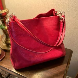 Brand new red coach bag